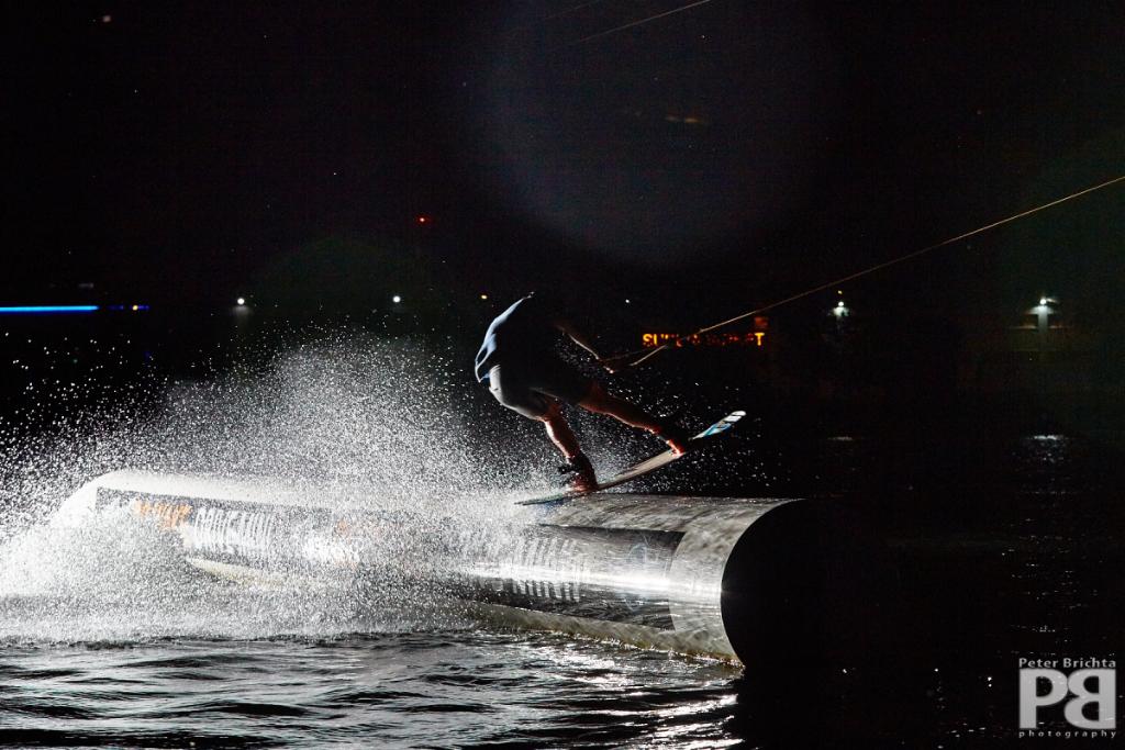 Night Wakeboarding