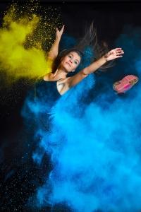 Color run photography