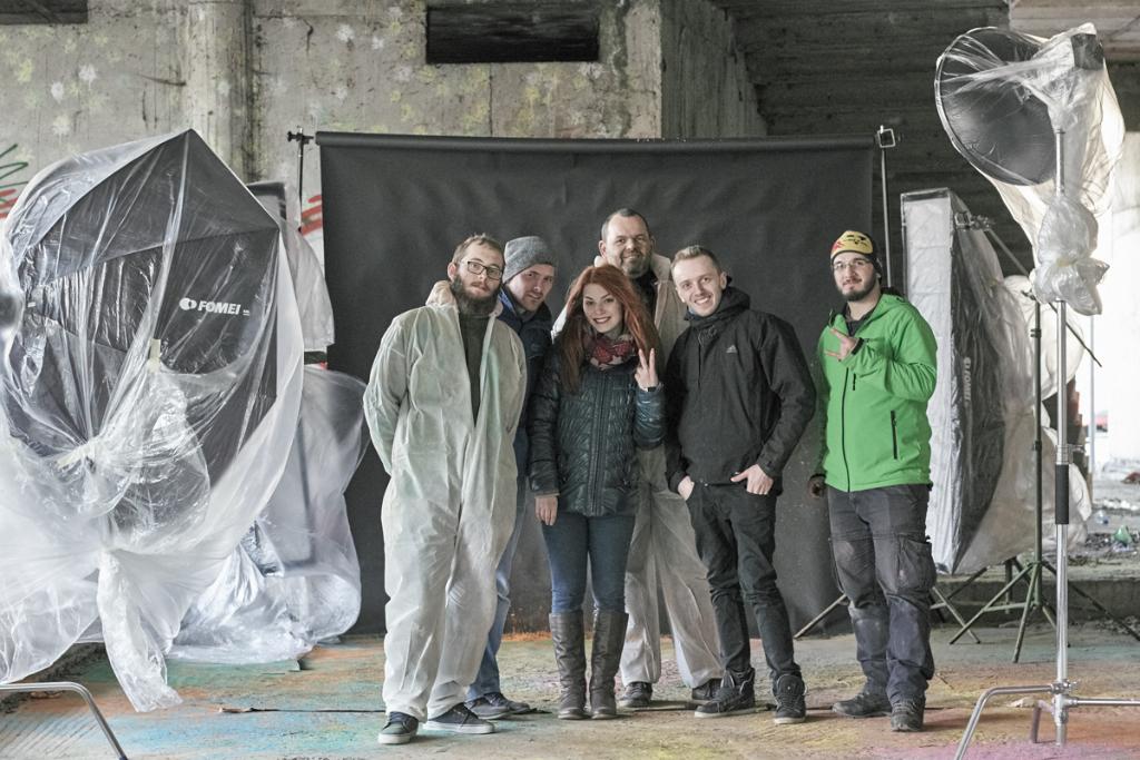 team of photographers